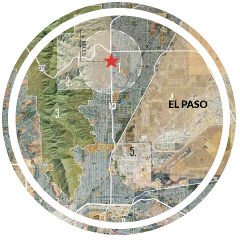 map of el paso